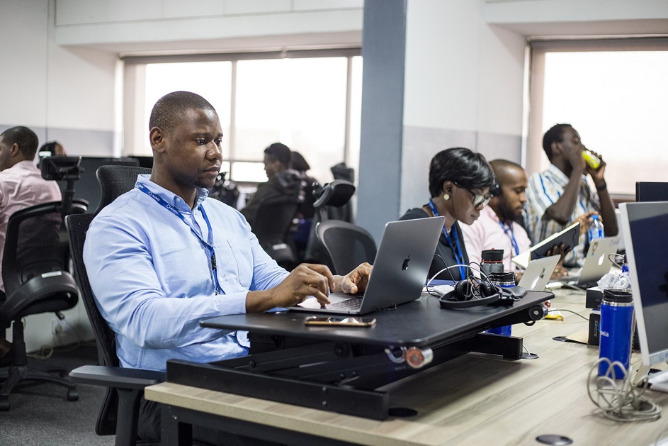 Andela software engineers, Lagos, Nigeria. Source: Kamdi Uko